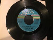 Kool & The Gang  - Let's Go Dancin' (Ooh La, La)/ Be My Lady   45 De-Lite VG+