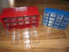 2x Kleinteilemagazin Sortimentskasten Sortierkasten Metall Kunststoff 31 Fächer
