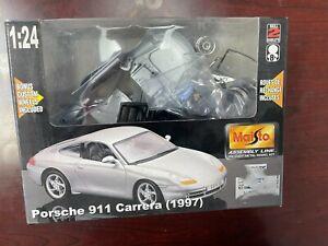 Maisto Assembly Line Die Cast Kit Porsche 911 Carrera 1997