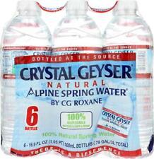 CRYSTAL GEYSER-Alpine Spring Water, Pack of 24 ( 16.9FZ )