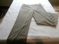 Sharagano women's Khaki brown pants size 16 designer wear new NWT casual dress