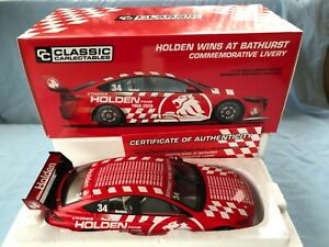 Carlectables 1:18 ZB Commodore Holden Wins at Bathurst Commemorative Livery