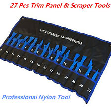 27pc Car Trim Panel Audio Stereo GPS Molding Removal Professional Scraper Tools