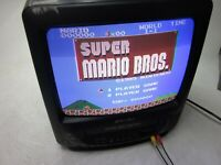 "Sansui COM3100A TV VCR Combo 13"" Retro Gaming CRT Defective AS-IS"