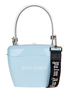 PALM ANGELS Women's Bags Handbag Light Blue NIB Authentic