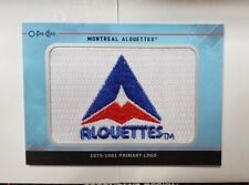 2015 Upper Deck CFL O-Pee-Chee Team Logo Patches #TL38 Montreal Alouettes 75-81