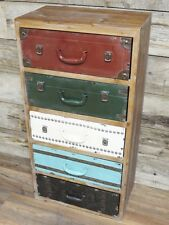 Tall Chest Of Drawers ( multi coloured )