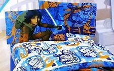 "Lucas Film Star Wars Rebels ""Fight"", Kids Full Sheet Set TV Series"
