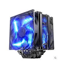 PcCooler X6 PWM Ultra-Silent LED Dual Fan CPU Cooler for 775 115x 1366 2011 AM4