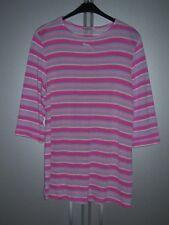 Inside Mode für Zwei Pullover Umstandspullover rosa gestreift Grösse 42 neu