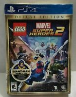 🔥LEGO Marvel Super Heroes 2: Deluxe Edition (Sony PlayStation 4, 2017)🔥
