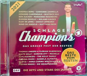Schlager Champions 2021 Florian Silbereisen Schlager Das Beste vom Besten NEU 1A