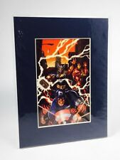 First Edition Collectible Marvel Comics The Avengers Limited Edition Laser Cel