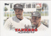 1988 TOPPS...NEW YORK YANKEES LEADERS...NRMT...# 459...FREE COMBINED SHIP