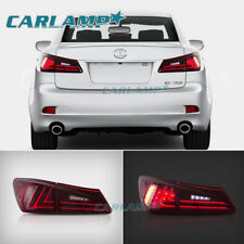 LED Tail Lights For Lexus IS350 & IS250 & ISF 2006-2012 Red Rear Light Assembly