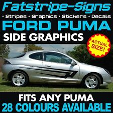 FORD PUMA GRAPHICS DECALS STICKERS STRIPES ZETEC 1.4 1.6 1.8 RALLY RACING ALLOYS
