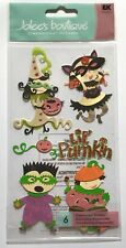 NIP LIL PUMPKIN HALLOWEEN COSTUMES KIDS DIMENSIONAL JOLEE'S BOUTIQUE STICKERS