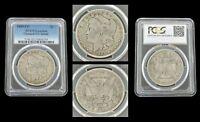 1889 CC $1 Morgan Silver Dollar Carson City PCGS Certified Genuine VG Detail