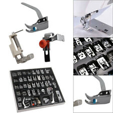 42Pcs Sewing Machine Foot Feet Presser Snap Set Kit For Singer Brother Janome UK