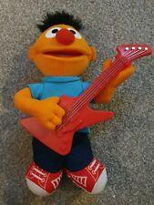 Hasbro Strummin Ernie Guitar Sings Kids Musical Plush Soft Toy