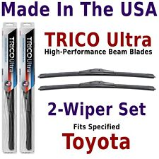 Buy American: TRICO Ultra 2-Wiper Blade Set fits listed Toyota: 13-15-15