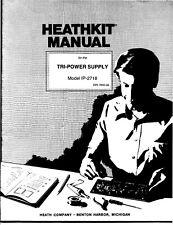 Assembly Manual-Anleitung für Heathkit IP-2718