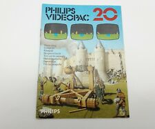 Philips Videopac 20 - Philips G7000 - Anleitung A-Ware