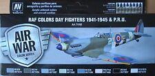 Vallejo Modelo Air VAL71162 Segunda Guerra Mundial RAF día luchadores/Unidad aviones 8 Color Conjunto de Pintura