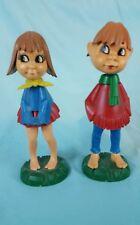 Magneto Figures  Kuss-Puppen Kissing Dolls  RARE SET First Kiss Bobble Heads