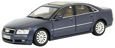 New Motormax -  Audi A8 DieCast Car Dark Blue 1:18 - 73149