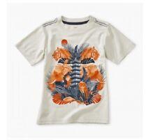 BNWT Tea Collection Sundew Bondi Bowl Graphic Tee Shirt Boy/'s Size 5