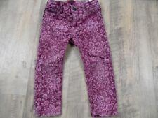 TOMMY HILFIGER schöne skinny Jeans rosa Samtblumen Gr. 80 TOP ZeC917