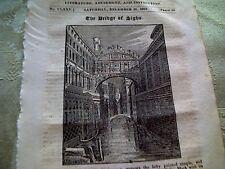52501 ephemera 1825  article the bridge of sighs