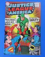 JUSTICE LEAGUE OF AMERICA #69 COMIC BOOK ~ DC SILVER 1969 ~ GREEN ARROW ~ VF
