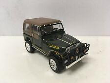 1980 80 Jeep Wrangler CJ-7 Laredo Collectible 1/64 Scale Diecast Diorama Model