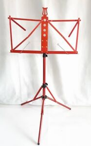 SUPER LIGHT MUSIC STAND (RED COLOUR)