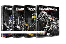 TRANSFORMERS - STEELBOOK EDITION (8 BLU-RAY) EDIZIONE LIMITATA 4 BOX SINGOLI