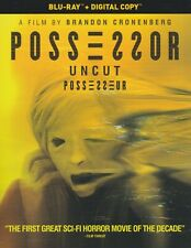 POSSESSOR UNCUT BLURAY & DIGITAL SET with Andrea Riseborough &Christopher Abbott