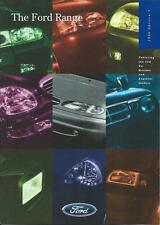 Ford Range UK Market Brochure 1996 inc Fiesta Escort Mondeo Probe KA Transit