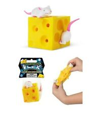 Stretch Mice & Cheese Tactile Toy Occupational Therapy Tactile Stress Fidget Toy