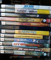 Lot of 20 Mystery / Random PS2 Games (Sony PlayStation 2, PS2) Mixed