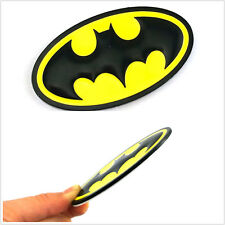 Metal Batman Emblem Logo Sticker Badge For Car SUV Body Side Tank Cover Fender