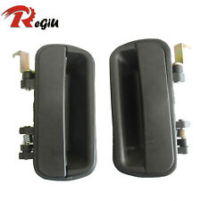 For 90-94 Hyundai Excel Outside Exterior Door Handle Rear Left Right Side RL RR