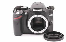 Nikon D D3200 24.2MP Digital SLR Camera - Black (Body Only) - Shutter Count: 485