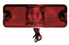 Rectangle Red LED LIGHT Side Marker Indicators Lights Truck Trailer Bus