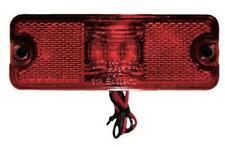 Rectangle Red LED LIGHT Side Marker Indicators Lights Truck Trailer Bus