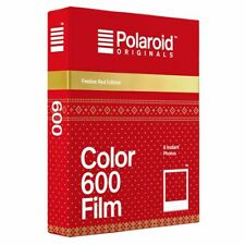 Polaroid Originals 600 Couleur Instantané Film festif rouge Edition Film