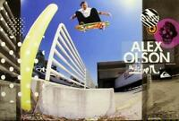 QUICKSILVER 2008 skateboard ALEX OLSON promotional poster Flawless New Old Stock