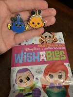 *Wishables* Finding Nemo- Nemo & Dory DLR Disney Mystery Pin Set Of 2