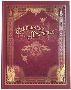 D&D Dungeons & Dragons Candlekeep Mysteries Hobby Cover Alternate Preorder